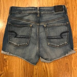 American Eagle Hi-Rise Shortie Jean Stretch 8